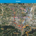 Na voljo tudi interaktivni zemljevid za Celebus