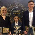 Karateisti naše regije med najboljšimi v letu 2018