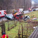 Usodna prometna nesreča na cesti Celje – Laško (foto)