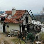V jutranjem požaru, ki je uničil hišo, sodelovalo 7 PGD (dopolnjeno, foto)