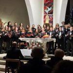 Zbor I. gimnazije prvič nastopil v župnijski cerkvi sv. Duha