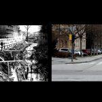 Celje nekoč in danes (foto primerjava)