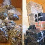 Priporniku domači dostavili drogo zapakirano kot čokolado. Hišna preiskava dala še večji izplen