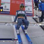 Timi Zajc v kvalifikacijah Planice poletel 239 metrov