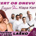 Vabimo na koncert Tanje Žagar in Klape Kampanel v Laško