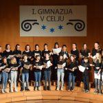Dobrodelni pomladanski koncert MeMPZ I. gimnazije v Celju (foto, video)