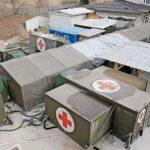 Po odpovedi zdravnikov vojska v Celju že postavlja mobilno vojaško bolnišnico (prvoaprilska)
