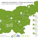 Dirka po Sloveniji 2019 tudi na Celjskem (vse trase, časovnice, 3D predstavitev tras in zapore cest)