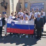 Celjski dijaki na Festivalu športa in kulture v Ščjolkovem