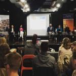 Celjski mladinski center gostil soočenje kandidatov za Evropski parlament