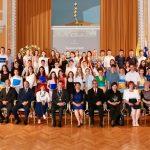 Sprejem 56 najuspešnejših osnovnošolcev in učencev Glasbene šole Celje