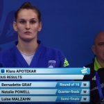 Klara Apotekar evropska prvakinja