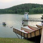 Skakalnici na Šmartinskem jezeru zaprti po dveh mesecih. Tudi wake vlečnica šele naslednje leto