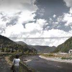 Korak bliže visečemu mostu med Starim gradom Celje in Miklavškim hribom (fotografije vizualizacije mostu)