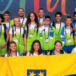 Mladi celjski športniki v Rusiji