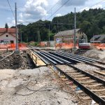 Nadgradnja železniškega postajališča Štore bo končana še letos (foto)