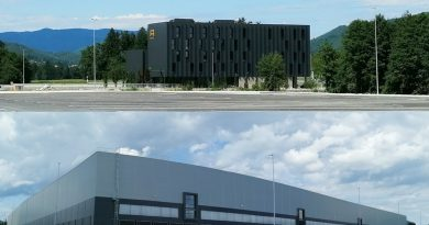 V Žalcu se odpirata nov štirizvezdnični hotel in velik Lidlov logistični center (foto)