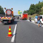 Zaradi množičnega trčenja nekaj časa zaprta avtocesta v Celju (dopolnjeno)