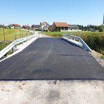 Most na Ljubečni obnovljen in odprt za promet
