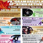 Jesenske počitnice 2019 v Celju: brezplačne športne aktivnosti za mlade – program aktivnosti