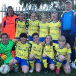 Mlade celjske nogometašice ob polsezoni najboljše na vzhodu