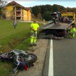 Smrt dveh motoristov v Stranicah. Znane podrobnosti nesreče (foto)