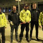 Policisti in rokometaši skupaj za boljšo varnost v prometu