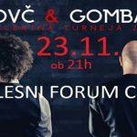 Vabimo na koncert Dovč & Gombač v Plesni forum Celje – ponujamo nekaj cenejših vstopnic