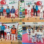 Trije mladi celjski karateisti do naslova državnega prvaka