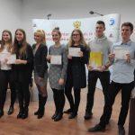 Državna univerza v Sankt Peterburgu mladim Celjanom podelila mednarodne certifikate o znanju ruskega jezika