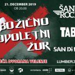Bliža se Božično Novoletni Žur s Šank Rock, TABU, San Di Ego in Lumberjack v Velenju – ponujamo cenejše vstopnice