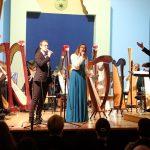 Narodni dom zvenel v strunah Orkestra harf Glasbene šole Celje