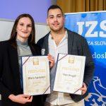 Klara Apotekar naj judoistka Slovenije za leto 2019