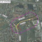 Severna vezna cesta s kolesarsko stezo bo kljub zaustavitvi projekta zaradi pandemije končana v roku