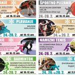 Zimske počitnice 2020 v Celju – program brezplačnih športnih aktivnosti