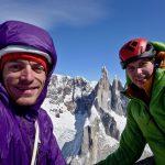 Celjska alpinista preplezala novo prvenstveno smer