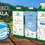 Slovenci najbolj zaupajo mleku Zelene doline