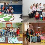 Otroci in mladi so tudi letos ustvarjali ob prazniku mesta