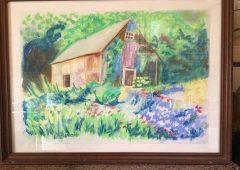 1-pomlad-v-mojem-vrtu-suhi-pastel-25-x-35-cm-vanda-zuzek-ljubljana