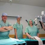10 let od prve robotsko asistirane operacije v Celju in v Sloveniji