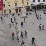 Tudi v Celju kolesarski protest
