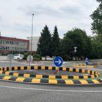 Montažno krožišče pri Trnovljah, še eno se obeta pri Teharjah