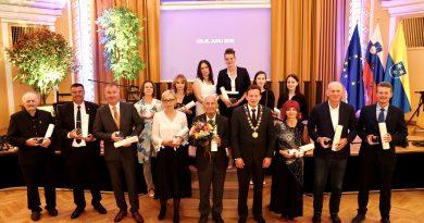 Mestna občina Celje podelila priznanja najzaslužnejšim občanom