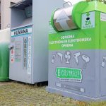 Ulične e-zbiralnike za stare elektronske aparate in baterije najdete v 12 občinah naše regije