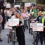Protivladni protesti v Celju spet bolj oživeli