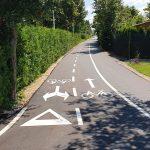 """Mreža kolesarskih poti v Celju se hitro širi. """"Hudičev greben"""" z novim parkiriščem"""