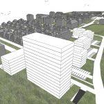 Načrtovano novo Dečkovo naselje s 14-nadstropnim stanovanjskim objektom