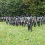 Štajerska varda razburila z napovedanim taborom v Konjicah