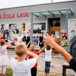 Učence Osnovne šole Lava obiskal predsednik Borut Pahor (foto)