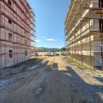 Prva dva bloka v novem Dečkovem naselju že stojita (foto)